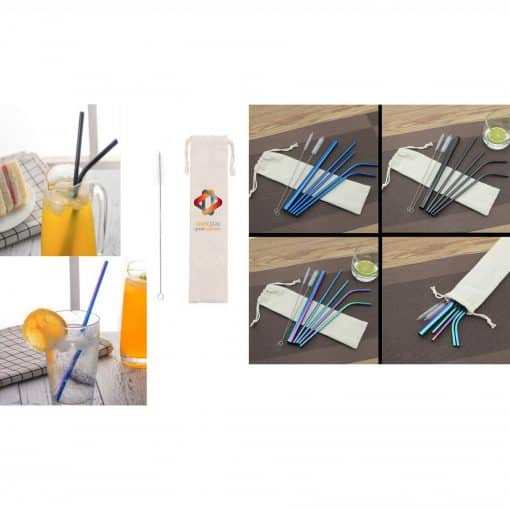 Colorful Stainless Straws