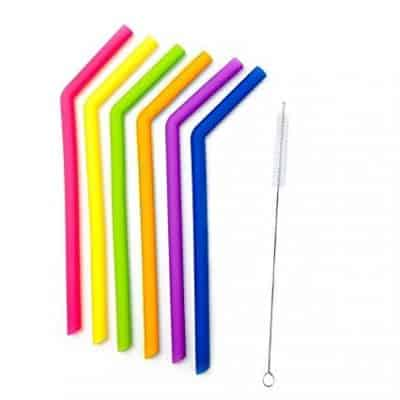 Flexible Silicone Straws