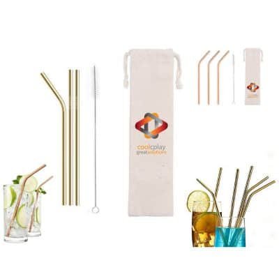 Reusable Straws For Cold Beverage