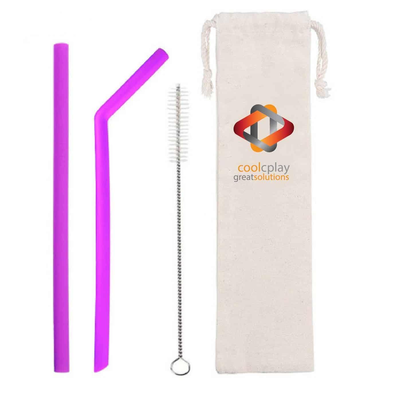 Flexible Silicone Straws