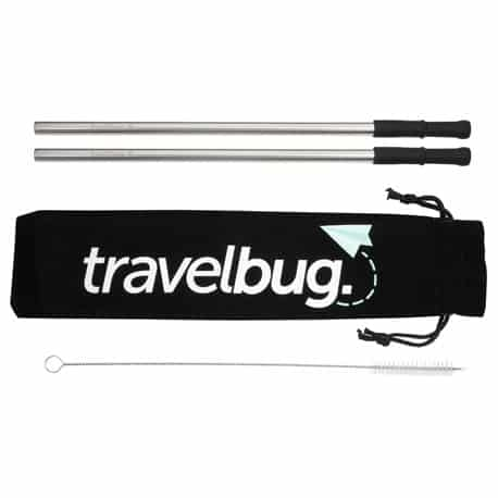 Reusable Stainless steel Straw Set with Brush