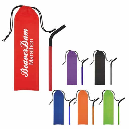 GreenPaxx® Cool Straw™ With Pouch