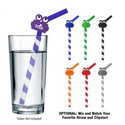 GreenPaxx® Tie-Dye Cool Straw™ With Clipster