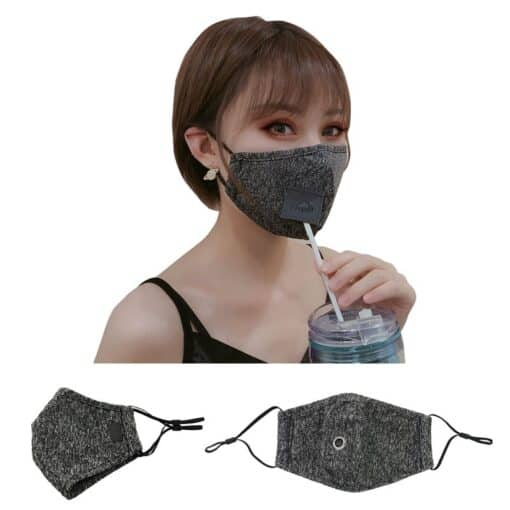 Easy Drinker Mask w/ Straw Hole