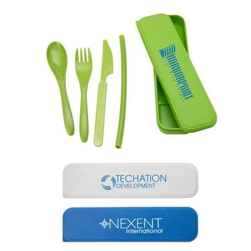 Alameda Wheat Straw Cutlery Set